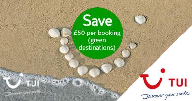 Save on Green list holidays
